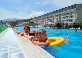Апарт-отель Да Васко (Da Vasko) - Крым Семидворье  отель  первая линия   с бассейном